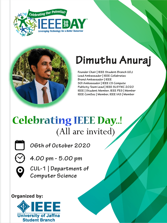 Introduction to IEEE – Celebrating IEEE Day 2020