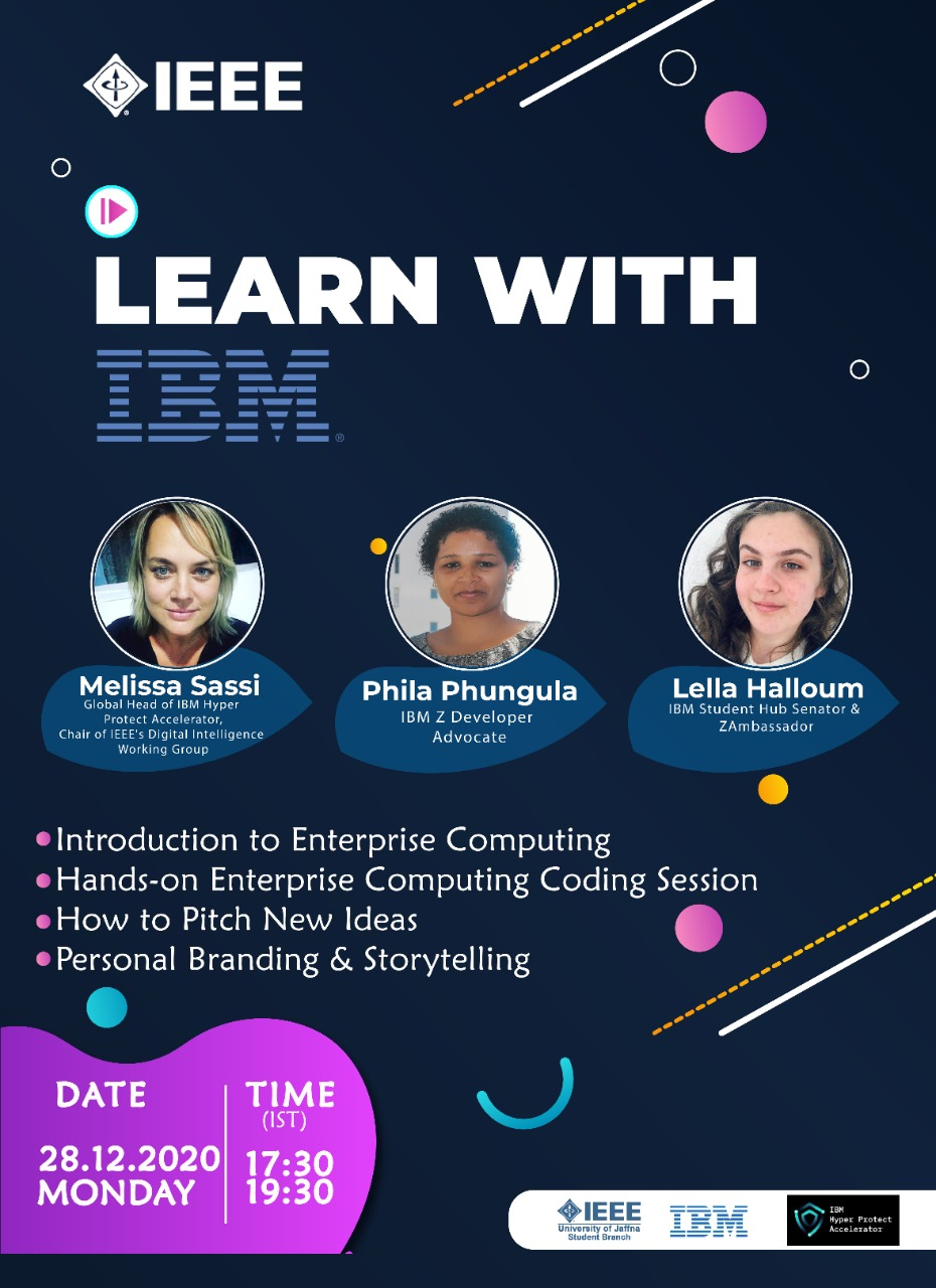 Learn With IBM – 2 Days more!