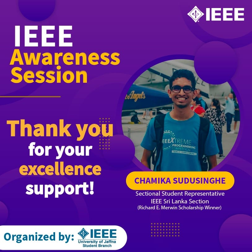 IEEE Awareness Session – Thank You!