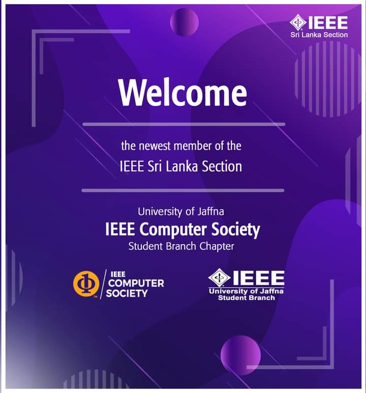 IEEE Computer Society Student Chapter of University of Jaffna.